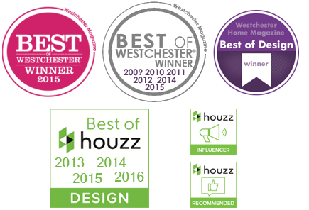 Voted Best of Westchester and Best Design winner