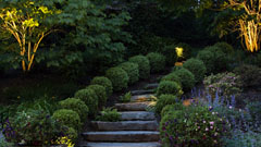 Landscape and garden design for home in Chappaqua, New York